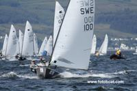 2011-Thomas Hansson Mild leads fleet in Largs